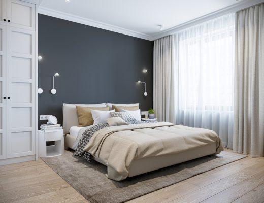 wyposazenie sypialni w nowoczesnym domu