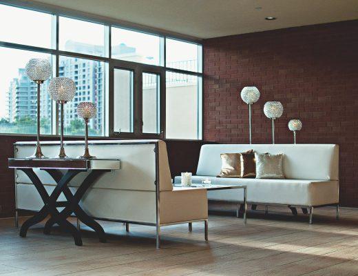 wyposażenie nowoczesnego apartamentu